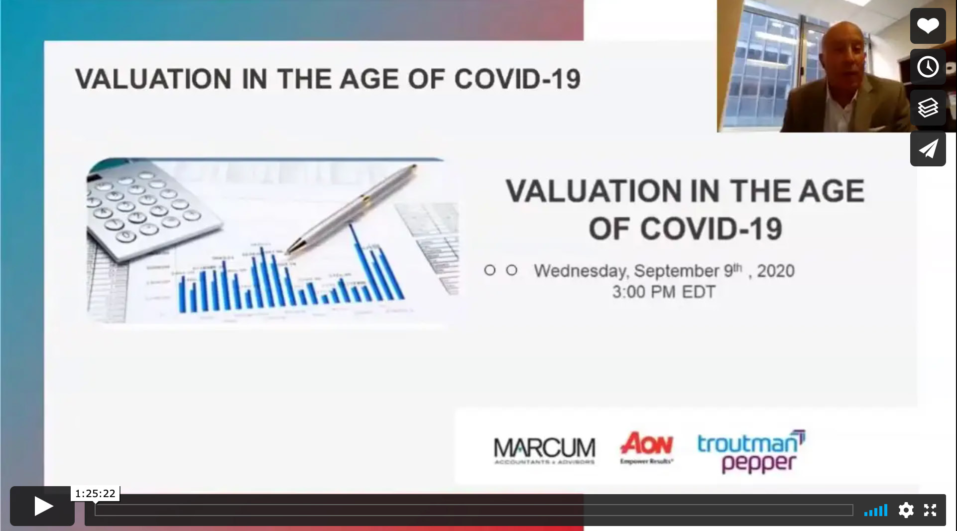 Private Equity Webinar: Valuation in the Age of Covid-19
