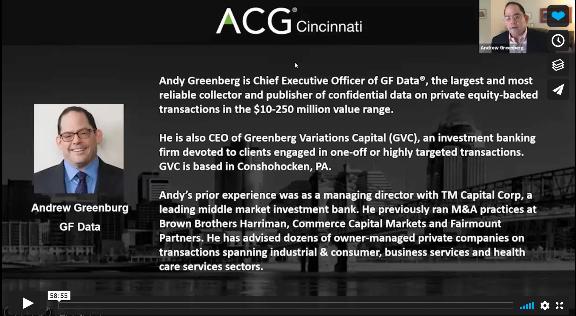 ACG Cincinnati: Deals Getting (and Not Getting) Done in the Covid Era